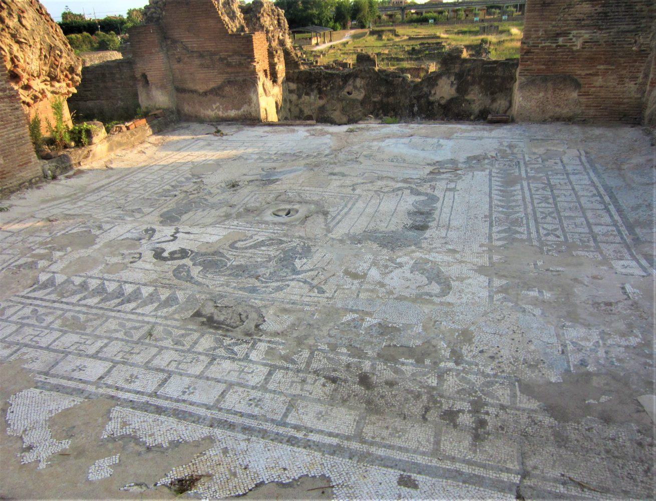 il mosaico parco archeologico di elea velia ascea scavi di velia il cilentano cilento