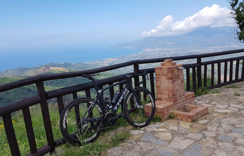 santuario madonna del carmelo a catona ascea, il cilentano, cilento, bicicletta ciclismo