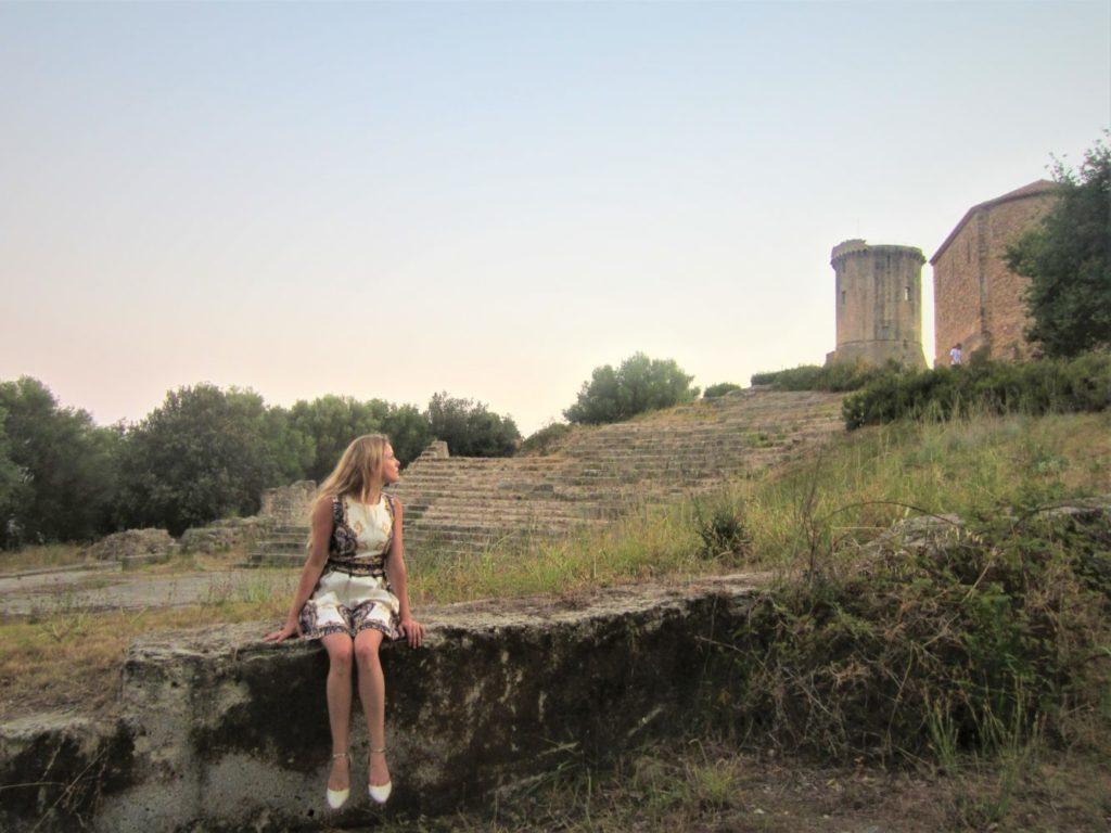torre di velia parco archeologico di elea velia ascea cilento il cilentano
