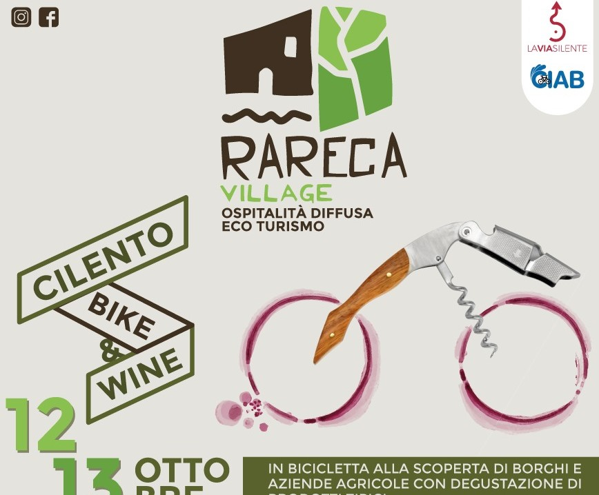 Cilento Bike & Wine Rareca Village Mandia Cilento il cilentano 2