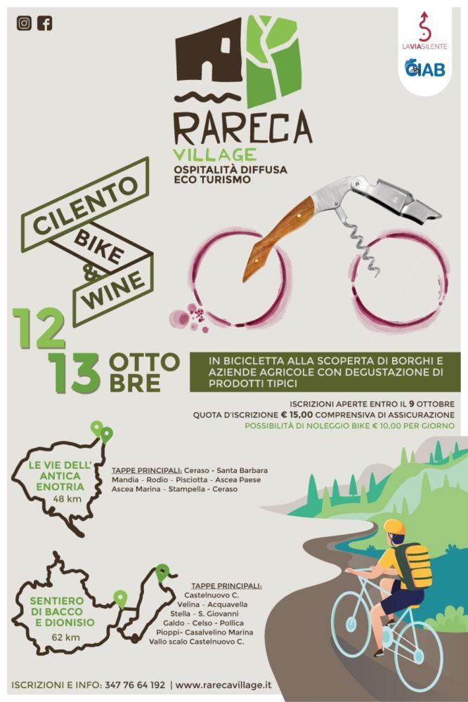 Cilento Bike & Wine Rareca Village Mandia Cilento il cilentano