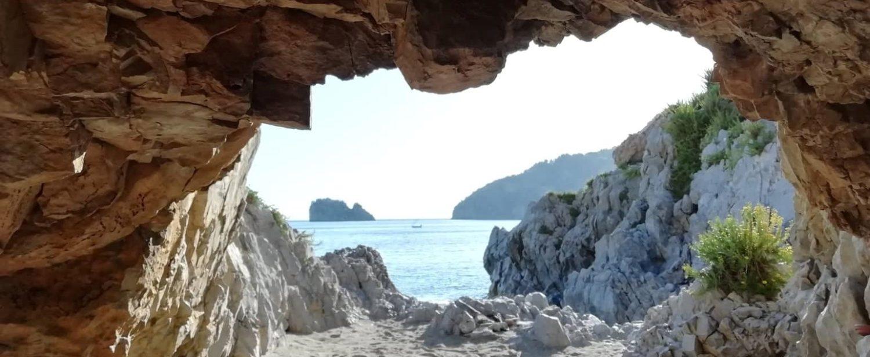 Grotta della spiaggia della Molpa Palinuro 2