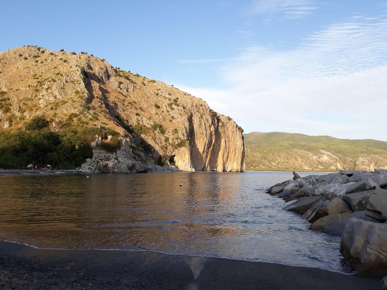 spiagge di Palinuro, spiaggia della Marinella Palinuro