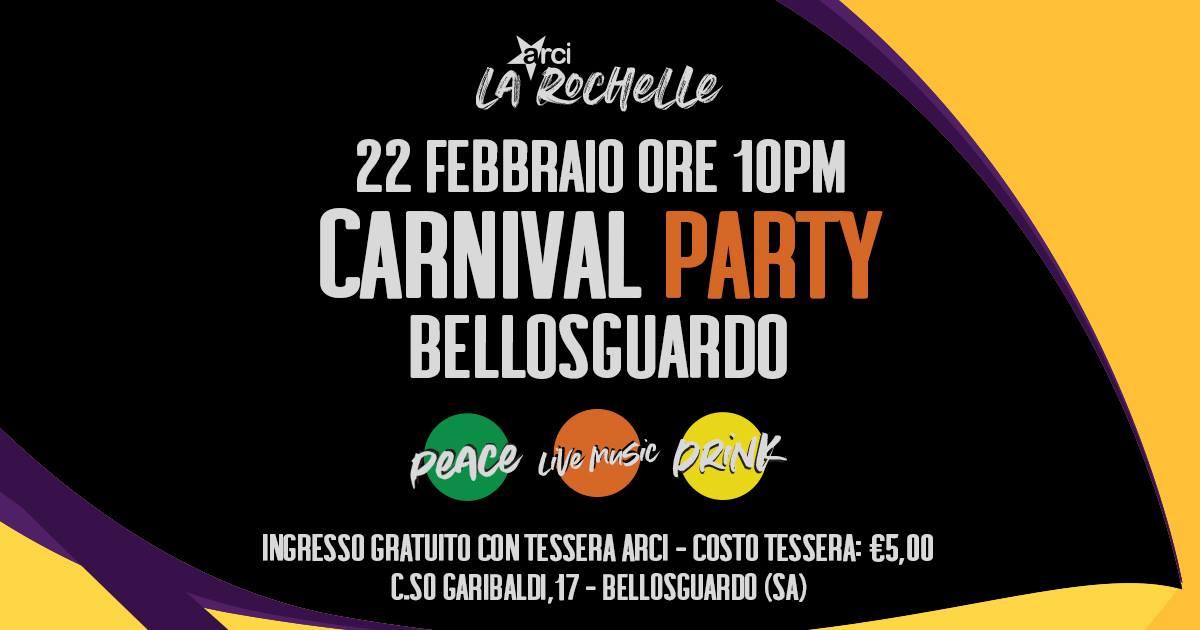 carnevale a Bellosguardo, carneval party, cilento e vallo di diano