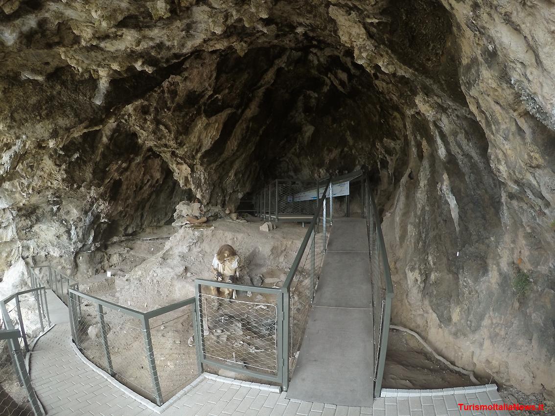 Grotta della Cala museo virtuale paleolitoco Camerota