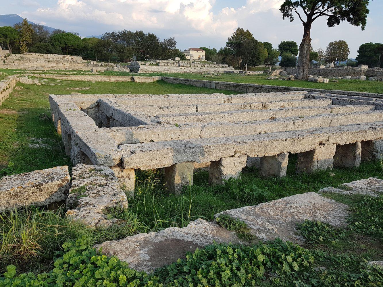 Il santuario di Paestum Parco archeologico di Paestum