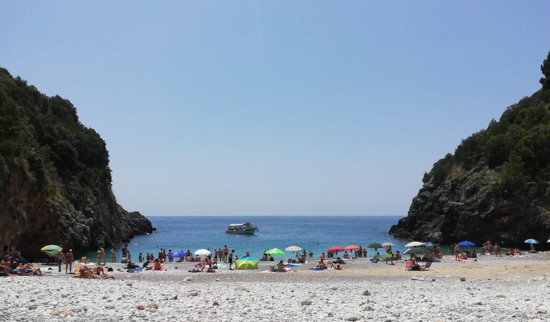 Spiaggia del Pozzallo marina di camerota