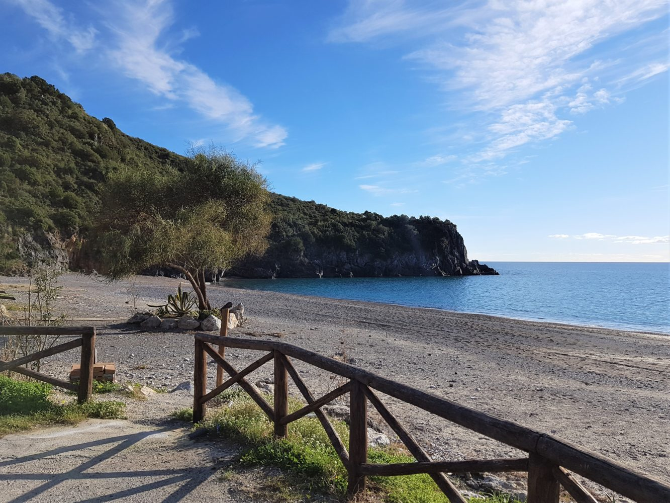 Spiaggia di Lentiscelle a Marina di camerota
