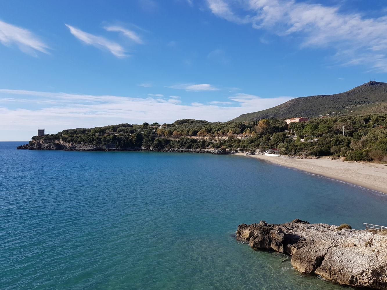 Spiaggia la calanca Marina di Camerota