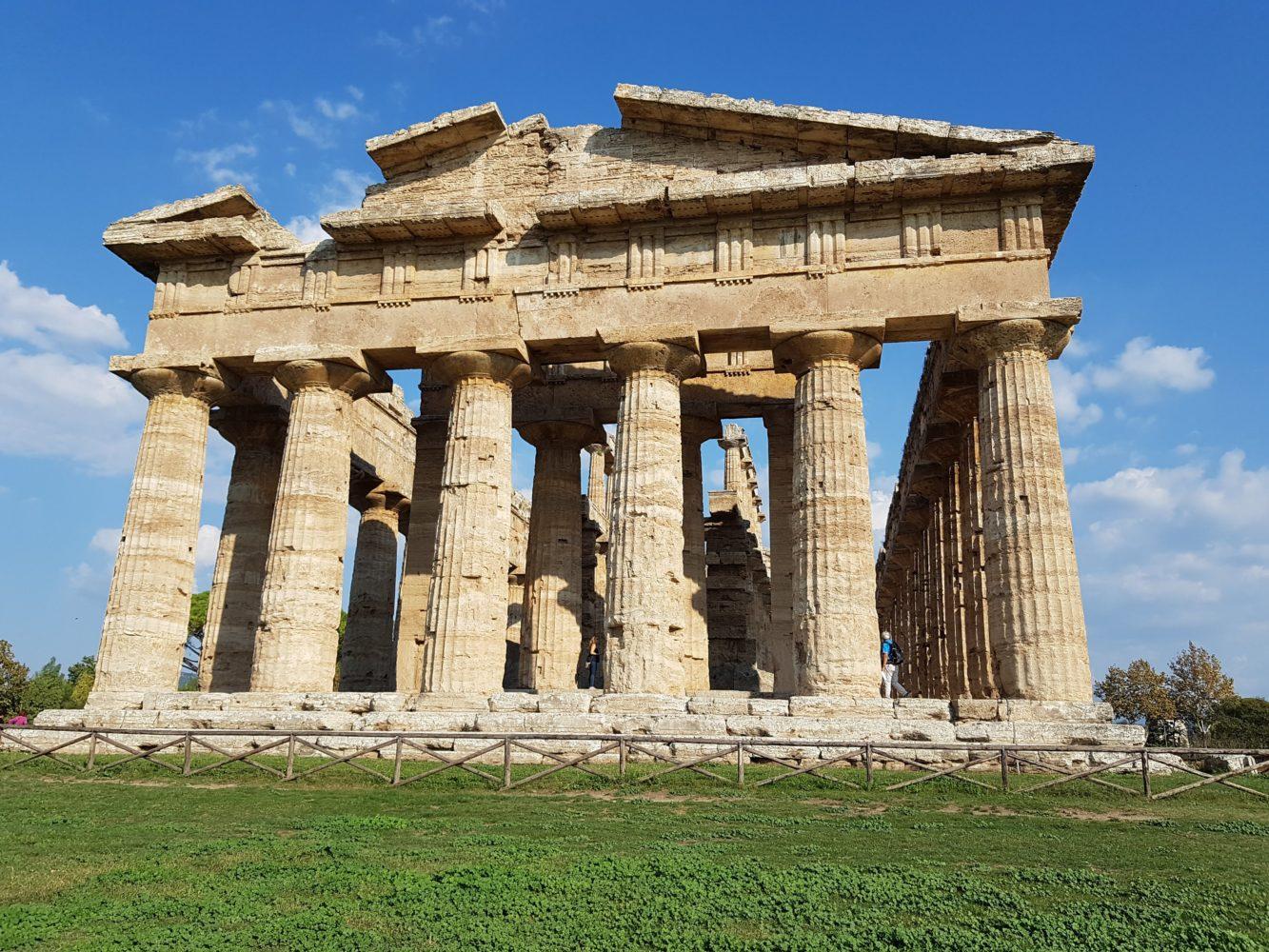 Tempio di Nettuno Scavi di Paestum, parco archeologico di paestum experience (2)