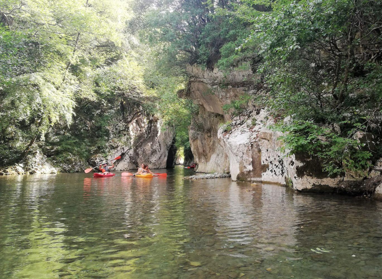 canoe e pedalò gole del calore