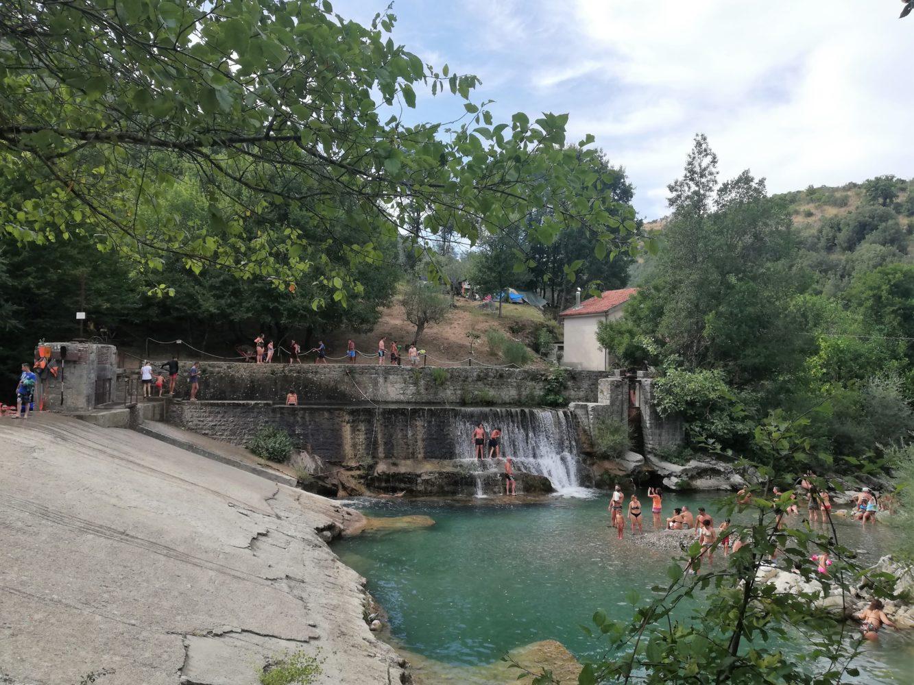 diga centrale idroelettrica dismessa il remolino felitto gola del calore