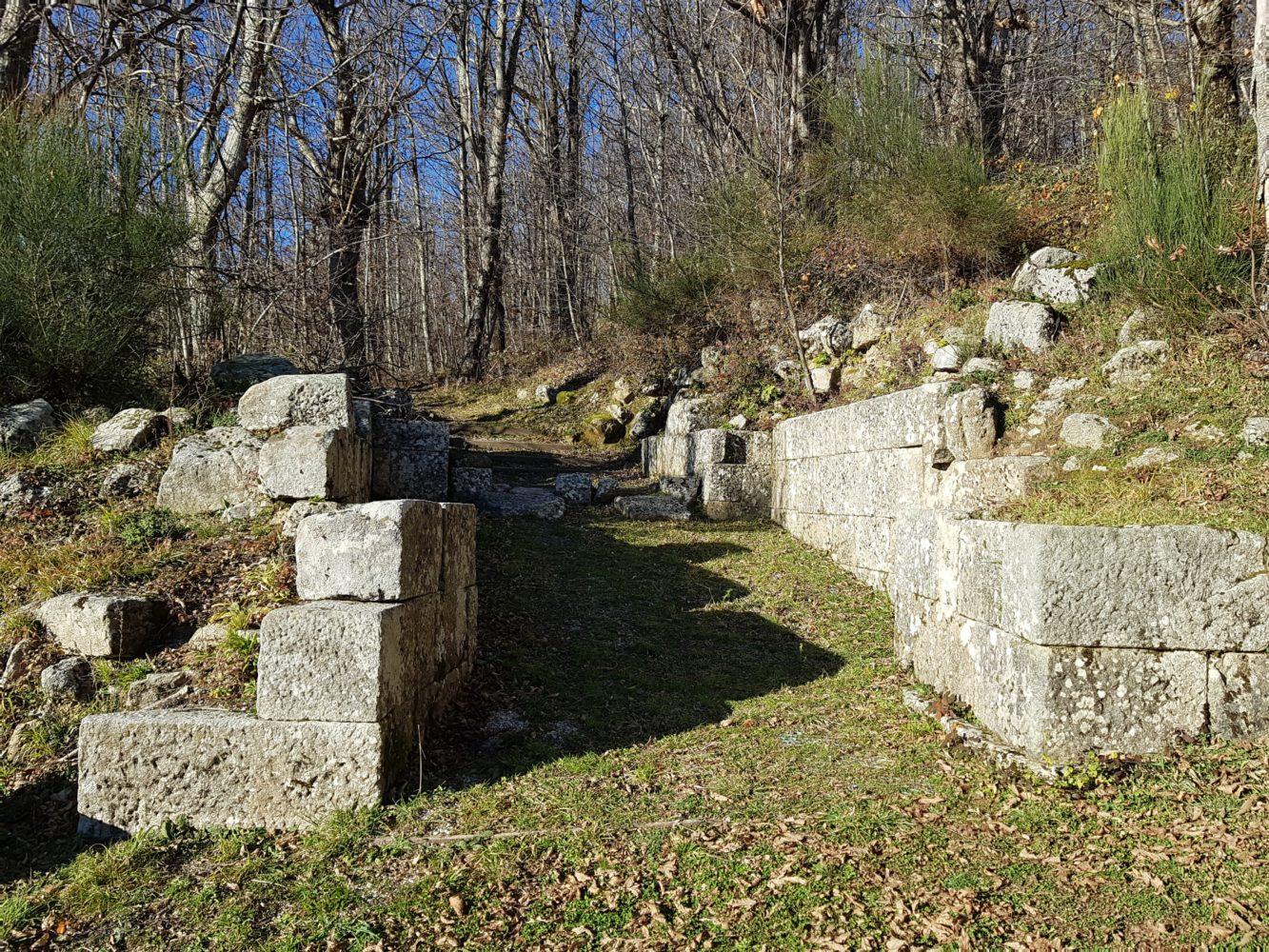 porta sud scavi della civitella