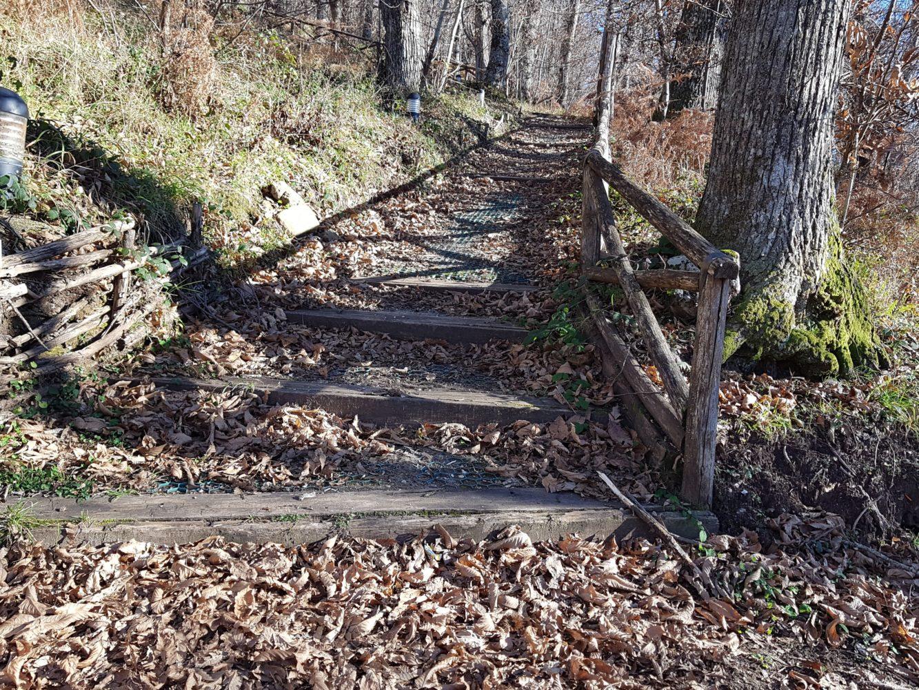 sentiero parco archeologico della civitella