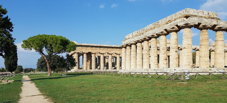 siti archeologici del cilento Tempio di hera Nettuno Scavi di Paestum, parco archeologico di paestum experience (7)
