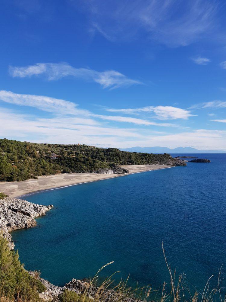 spiaggia cala d'arconte Marina di Camerota