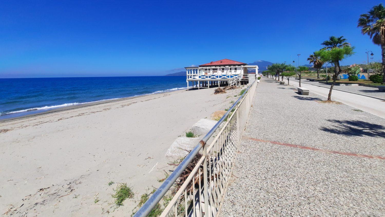 Accesso in spiaggia cilento estate 2020 ascea