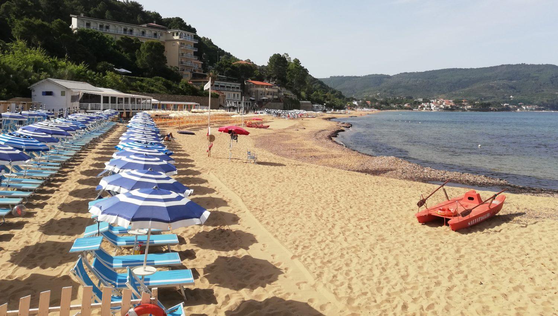 spiaggia bandiera blu 2020 cilento pozzillo santa maria di castellabate