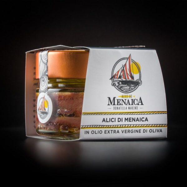 Alici di Menaica in olio extravergine di Oliva Presidio Slow Food (2)