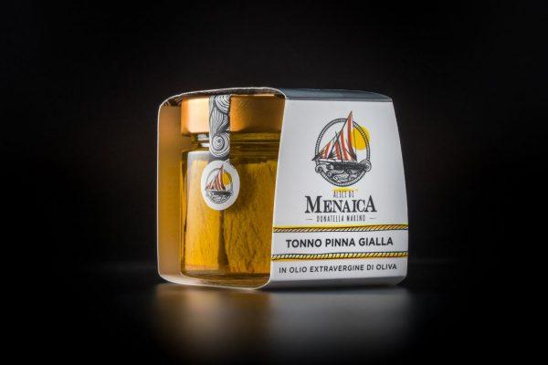 tonno pinna gialla donatella marino alici di menaica 250 gr