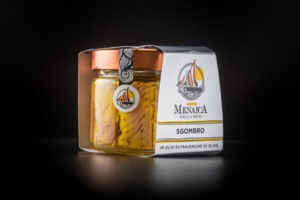 Sgombro in olio extravergine di oliva 250 gr