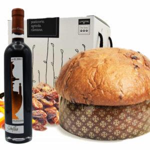 Panettone-Macellaro-Passito-rosso-Cobellis
