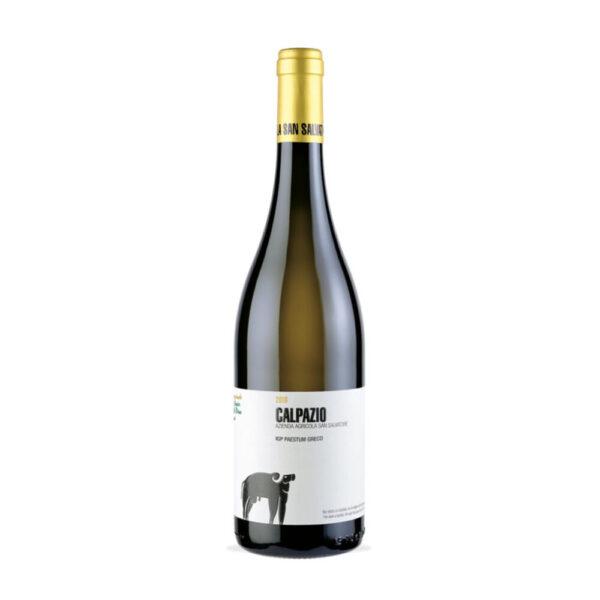 vino calpazio igp paestum greco di tufo